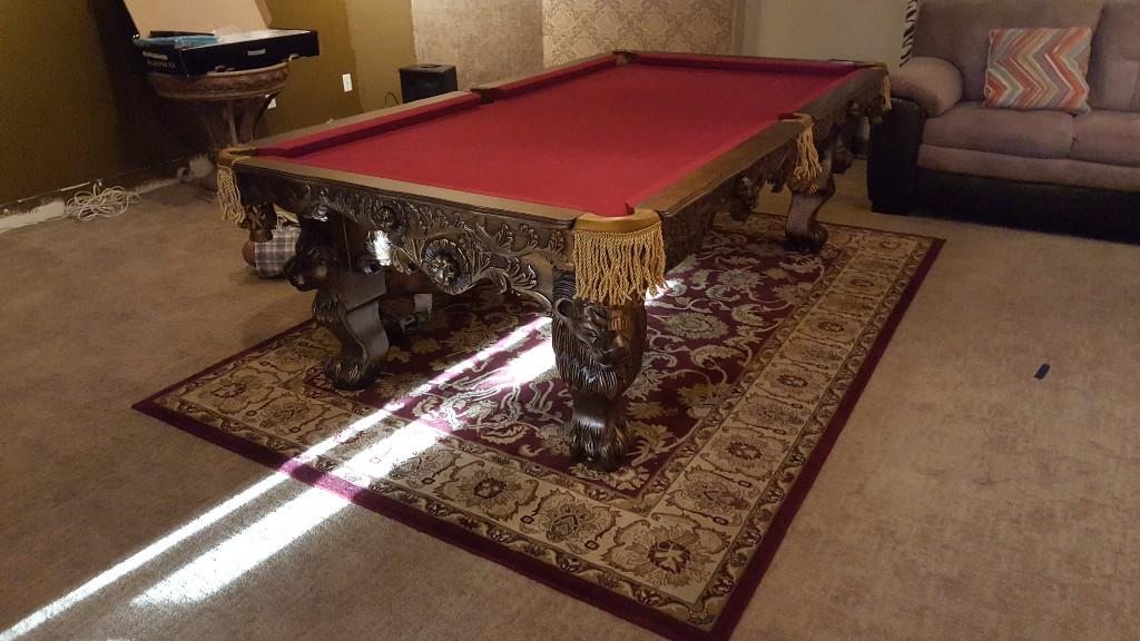 Genial ... Orlando Pool Table Movers Pool Table Moving Assembly Refelt   Image 7  ...