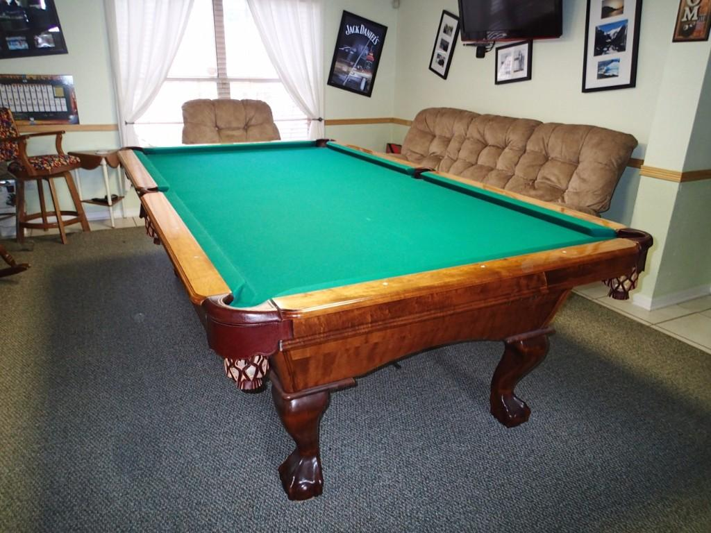 Move And Re Felt Pool Table Best Table - Pool table movers phoenix