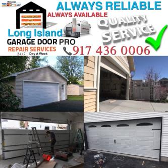 Garage door repair and installation service New York and