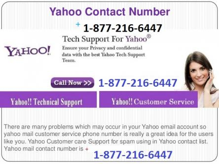 Usa Yahoo Support 1 877 216 6447 Number Tech Image